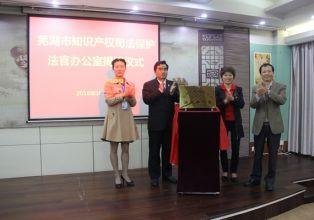 芜湖经开区法院:首个知识产权司法保护法官办公室成立