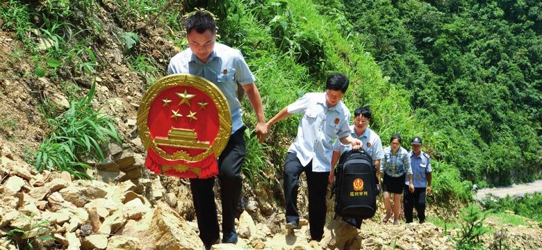 广西那坡法院:边境巡回化纠纷
