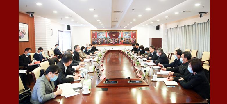 武维华周强座谈 加强知识产权司法保护